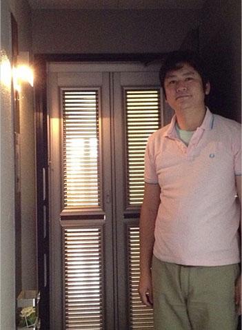 玄関網戸マンションタイプ